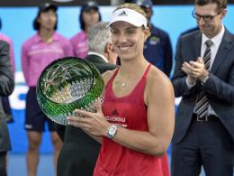 Erster Titel seit den US-Open: Kerber-Triumph in Sydney