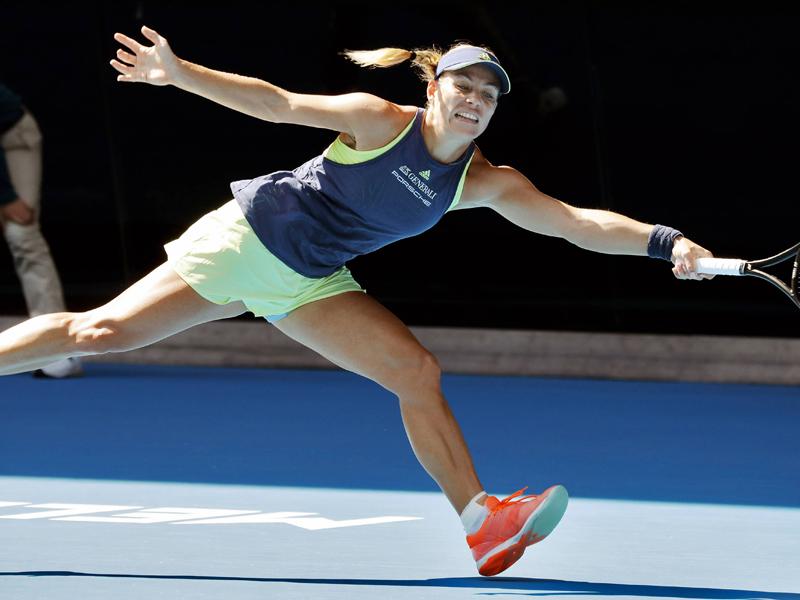 Kerber verliert gegen Halep im Halbfinale der Australian Open
