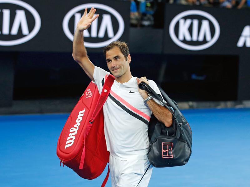 Unvorstellbare Zahl Federer Vor 20 Grand Slam Titel Tennis Kicker