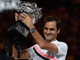 In fünf Sätzen: Federer triumphiert in Melbourne