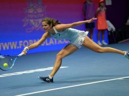 Wie Lisicki: Görges verpasst in St. Petersburg das Finale