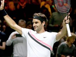 Federer schlägt Kohlschreiber und ist auf Rekordkurs