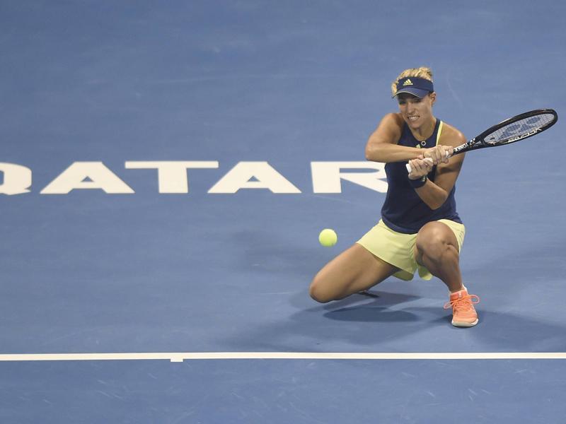 Kerber und Görges bei Tennisturnier in Doha im Viertelfinale