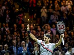 Nach Sieg über Haase: Federer wird wieder Weltranglistenerster!