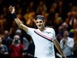 Federer veredelt Rekord - 97. ATP-Titel!