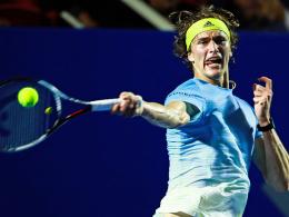 Zverev jetzt gegen Gojowczyk - Nadal sagt ab
