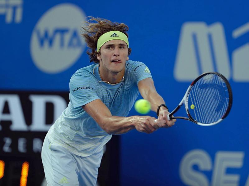 Alexander Zverev steht im Viertelfinale
