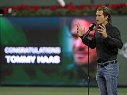 Beim eigenen Turnier: Tommy Haas erklärt Rücktritt