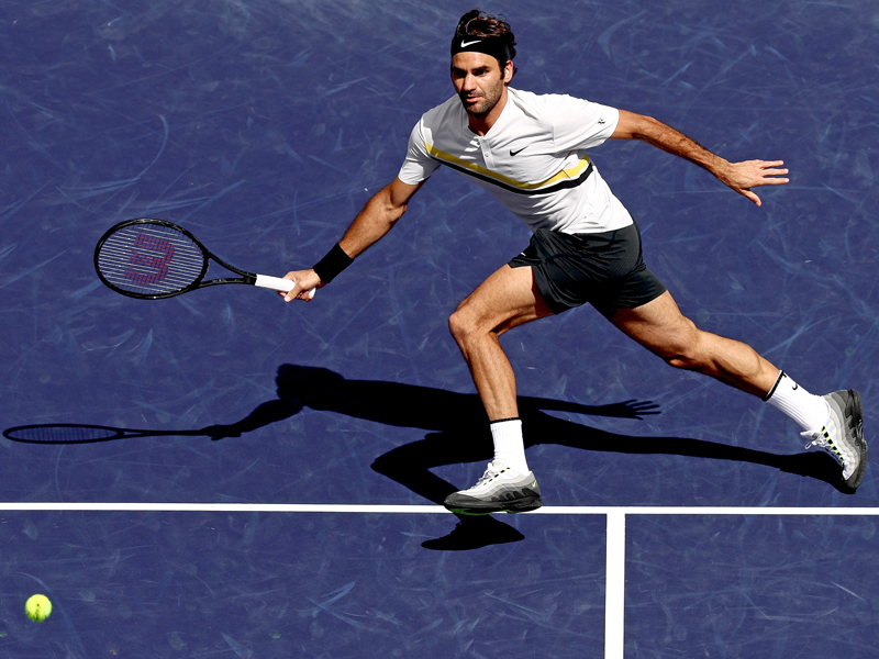 Tennis: Del Potro stoppt Federers Siegeszug
