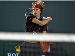 Erste Davis-Cup-Einheiten ohne Zverev und Struff