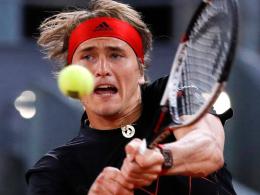Zverev souverän - Nadal knackt Uralt-Rekord