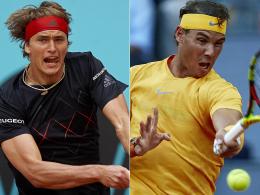 Thiem stoppt Nadal - Zverevs Revanche gelingt