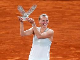 Drittel Madrid-Titel für Kvitova - Thiem im Finale