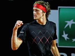 Zverev macht Traumfinale mit Nadal perfekt