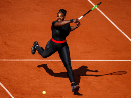 Superheldin Serena sieht French-Open-Chancen skeptisch