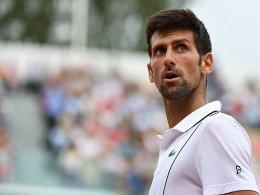 Djokovic siegt mit Wut im Bauch