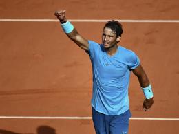 Nadal deklassiert del Potro - Thiem wartet im Endspiel