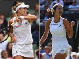 Kerbers Premiere gegen Ostapenko - Besiegt Görges den Serena-Fluch?
