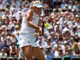 Glatter Sieg über Ostapenko: Kerber steht wieder im Wimbledon-Finale