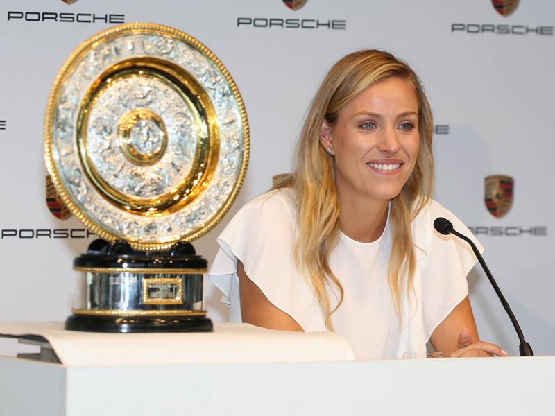 Wimbledonsiegerin Kerber kehrt in die Top Fünf zurück