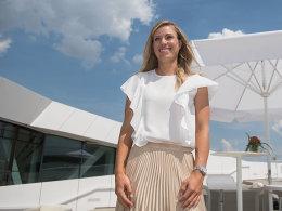 Kerbers erster Auftritt als Wimbledonsiegerin