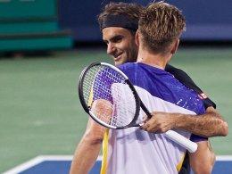 Federer eine Nummer zu groß für Gojowczyk