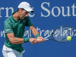 Cincinnati-Fluch beendet: Djokovic schreibt Geschichte