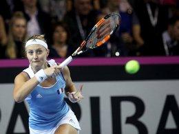Marathon-Match an Pliskova - Garcia bezwingt Kvitova