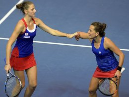 Fed Cup an Tschechien - Siege für Djokovic und Raonic