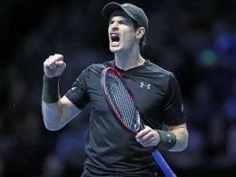 Murray wie Djokovic Erster - Wawrinka scheidet aus