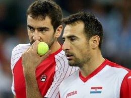Davis Cup: Vorteil Kroatien