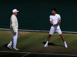 Das Ende: Djokovic und Becker trennen sich