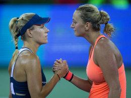 Vier-Stunden-OP: Kvitova kann wohl weiter Tennis spielen