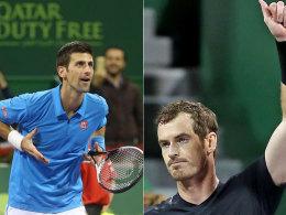Murray und Djokovic steuern erstes Highlight an