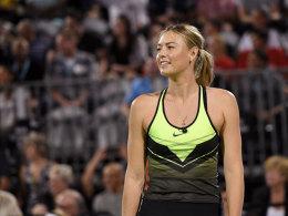 Sharapova kehrt in Stuttgart zurück