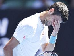 Schon raus! Nummer 117 der Welt schockt Djokovic