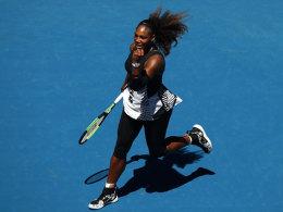 Serena müht sich - Thiem trauert nicht