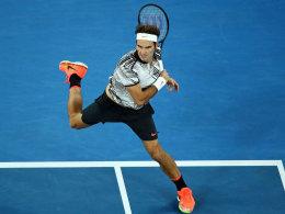 Federer macht's: Fünfsatzsieg und Finale!