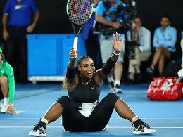 Serena Williams lässt Kerber und Graf hinter sich