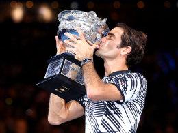 Übersicht: Federers 18 Grand-Slam-Siege