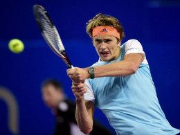 Zverev wieder im Halbfinale - Brown raus