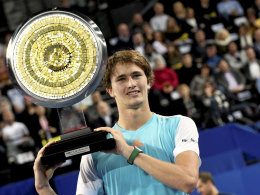 Alexander Zverev stürmt in die Top 20