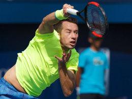 Kohlschreiber vergibt sieben Matchbälle gegen Murray