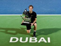 Mit Zitter-Rekord: Murray holt ersten Titel 2017