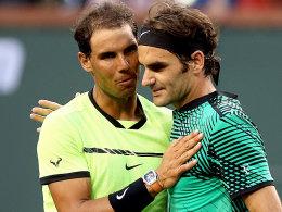 Federer deklassiert Nadal