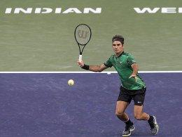 Federer profitiert von Kyrgios-Aufgabe