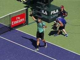Federer feiert die Nr. 90 und die Nr. 25