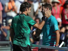 Federer: Gelobt,