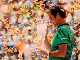Nach Glitterregen in Miami: Federer macht erstmal Pause