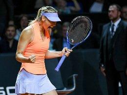 Sharapova gewinnt bei ihrem vielbeachteten Comeback